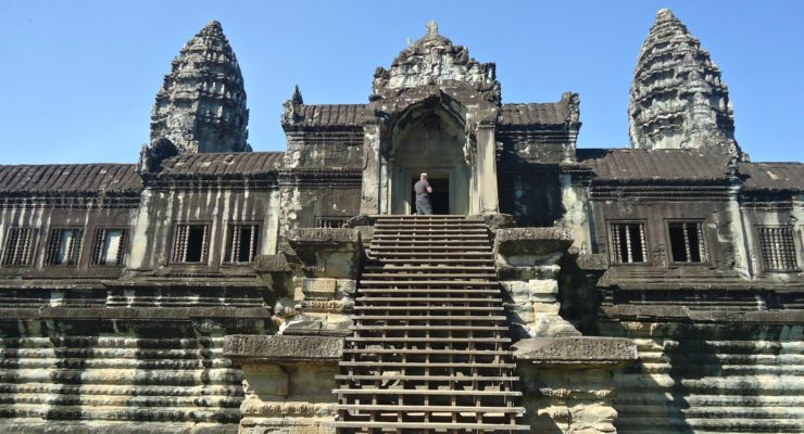 The Good Samaritan and the Temples of Siem Reap