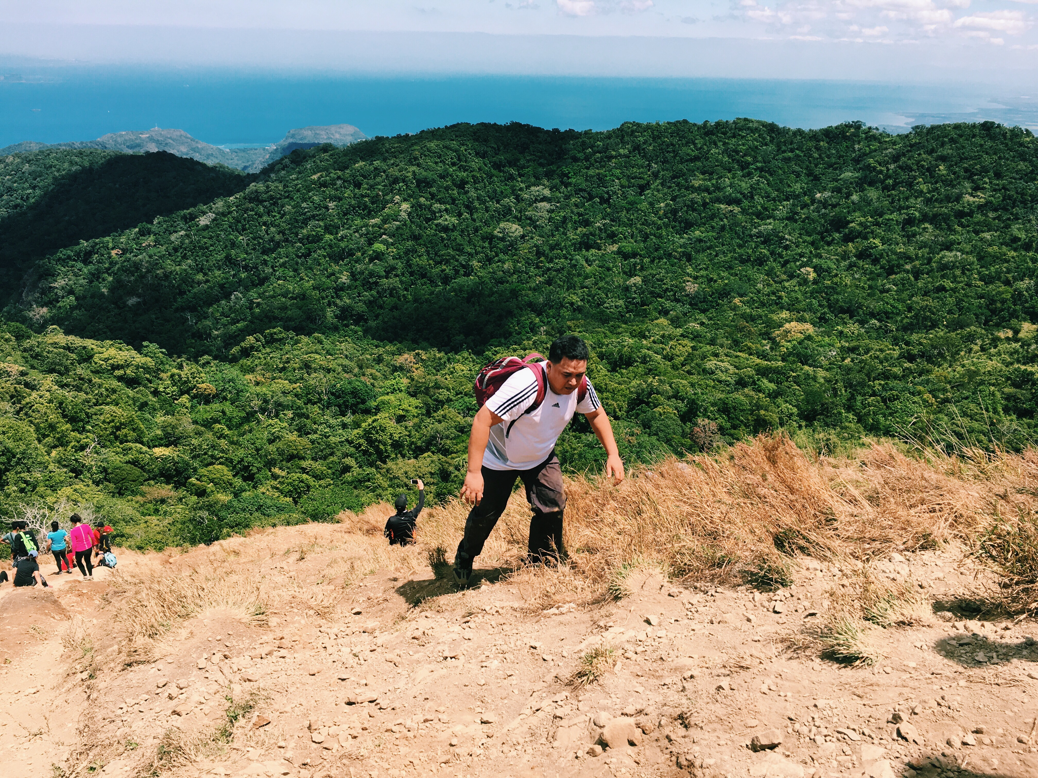 Jon successfully climbs Pico de Loro for the second time
