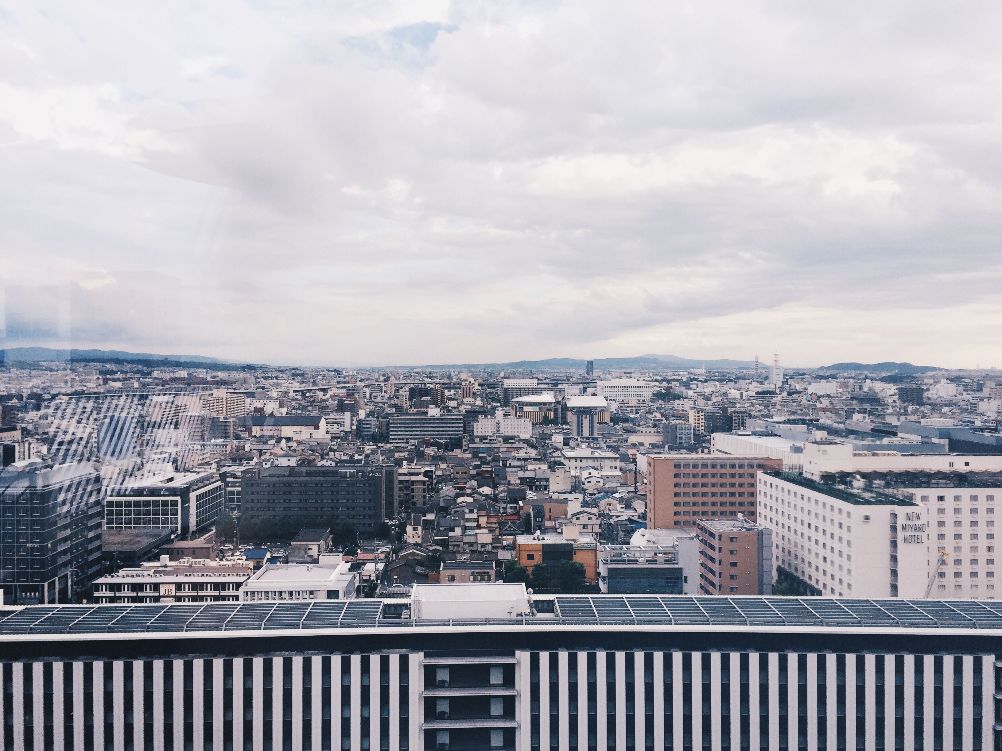 kyoto station view deck