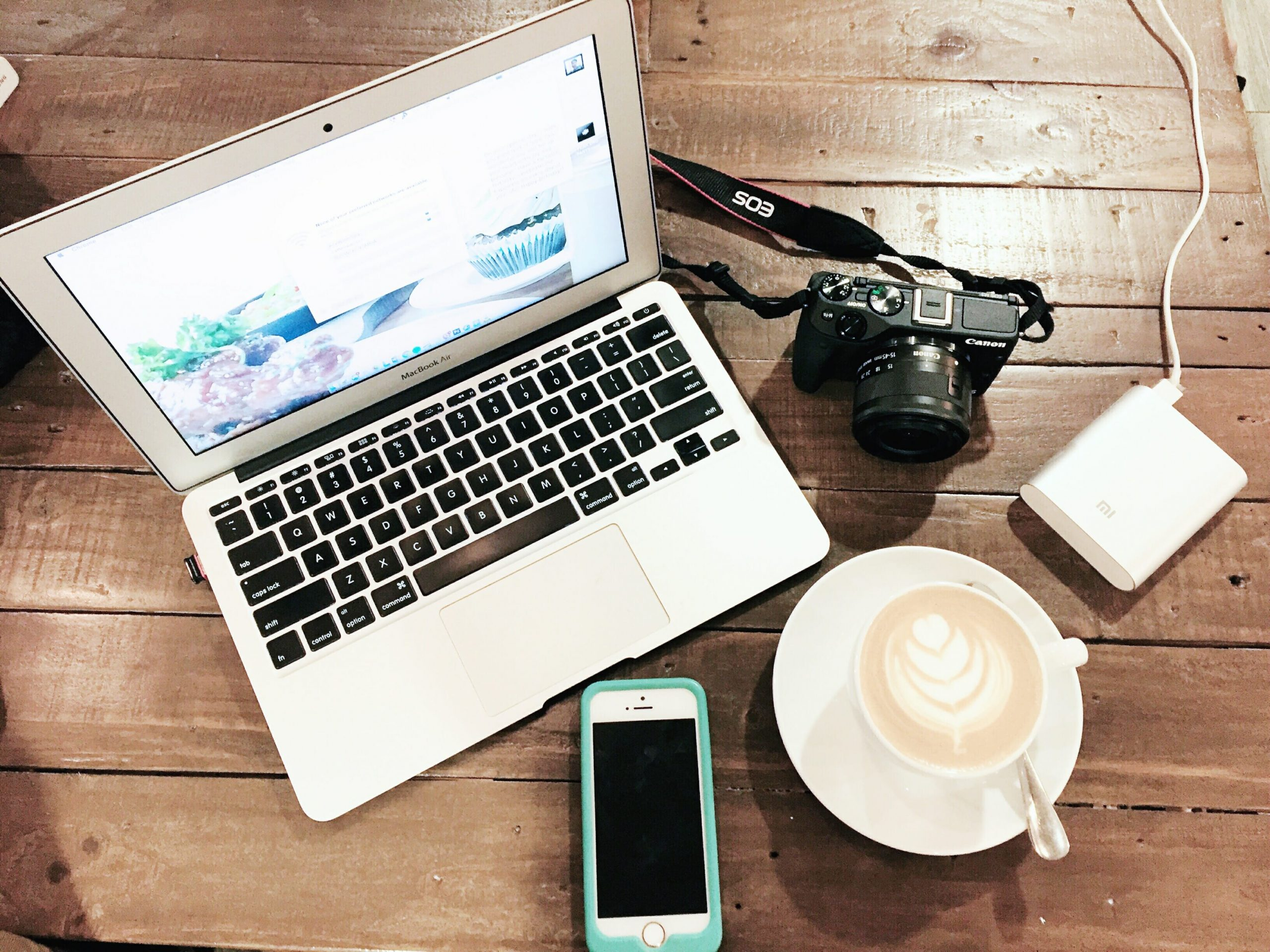 coffee-laptop-phone-camera-flatlay-coffeehan
