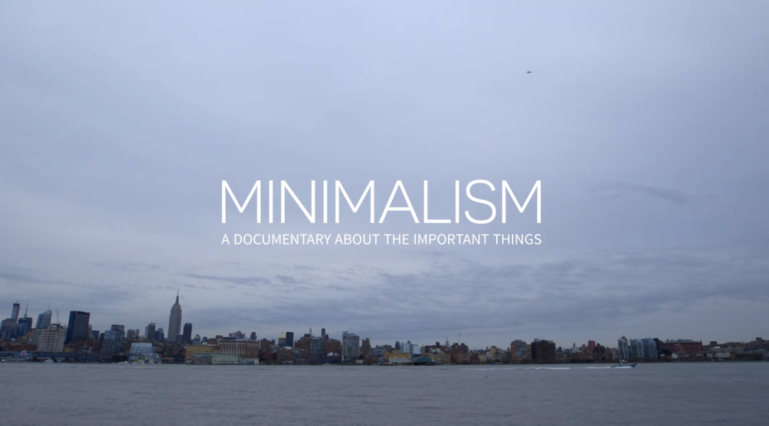 Going Minimalist - Coffeehan - How I found peace by owning less
