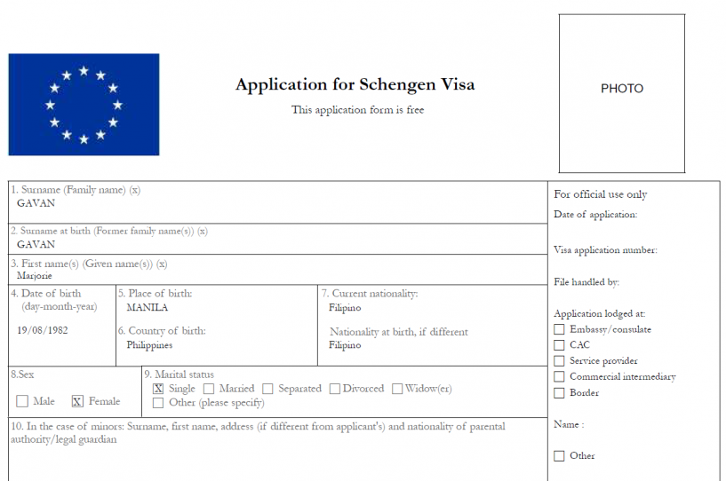 schengen-visa-application-form